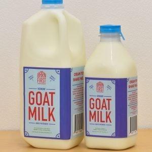 Barn First Creamery Goat Milk Bottles