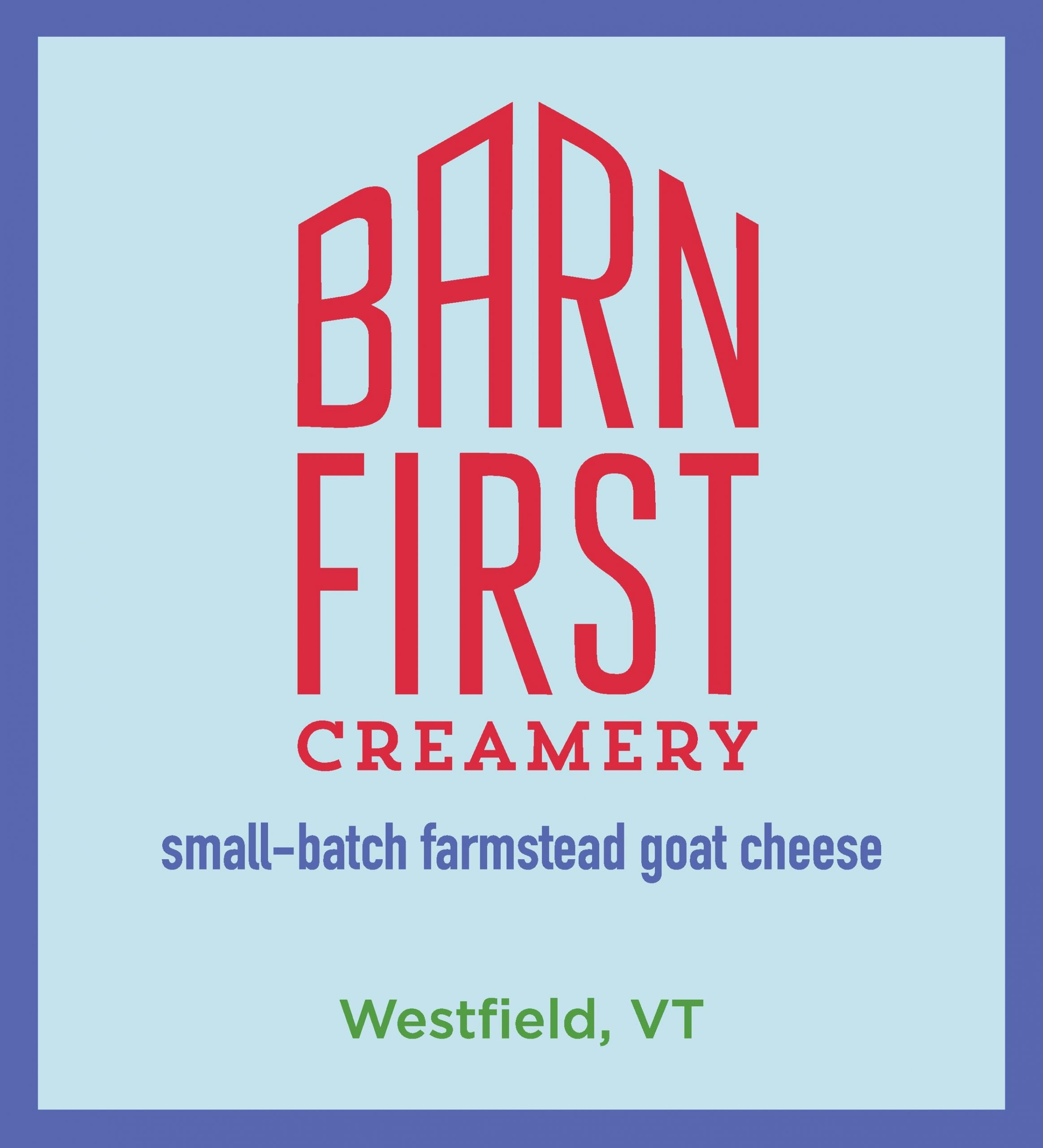 Barn First creamery - logo